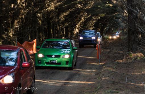 Sled Dog Derby convoy