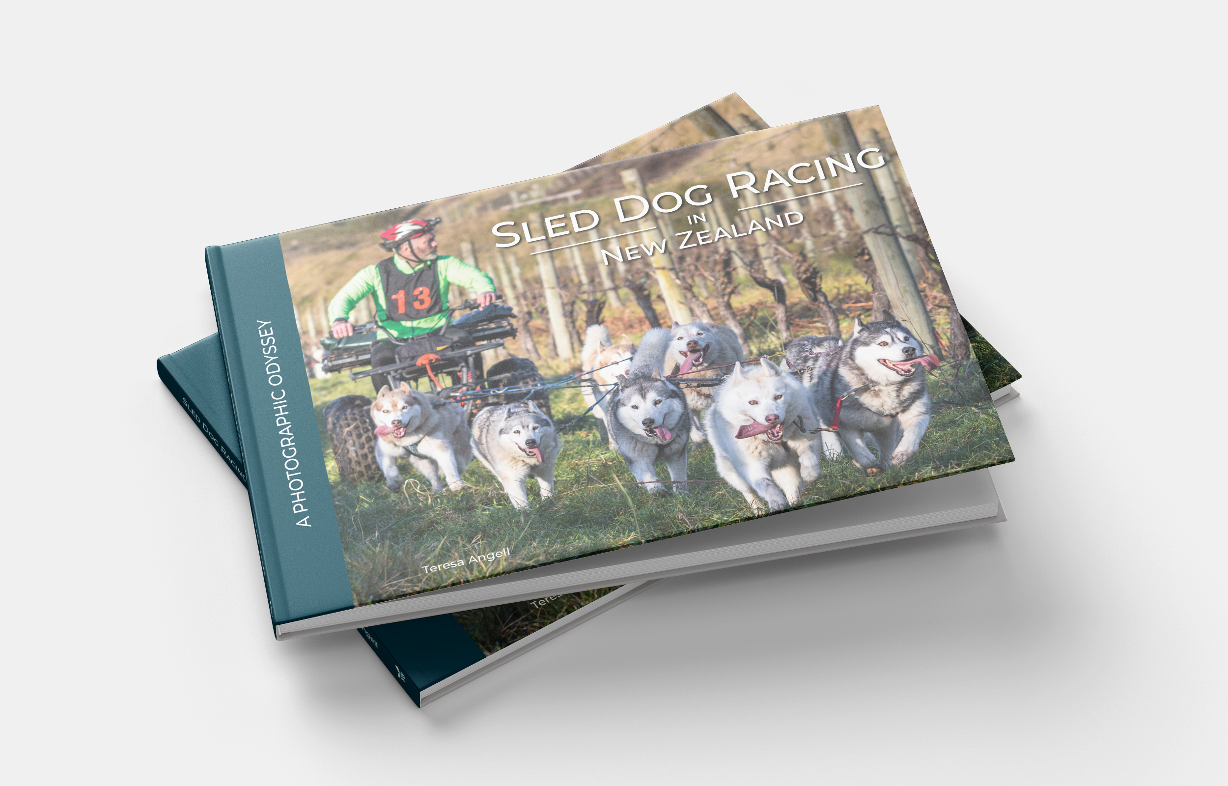 Sled Dog Racing Book Cover